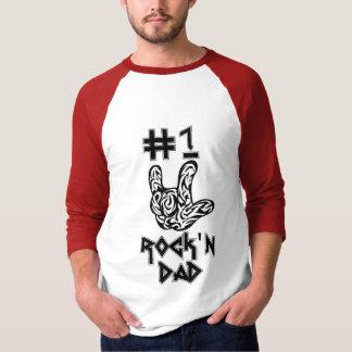 #1 Rock'n Dad Shirt
