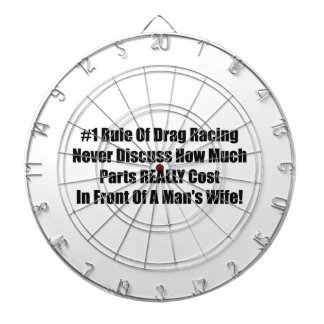 1 Rule Of Drag Racing Never Discuss How Much Parts Dartboards