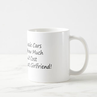 1 Rule Of Muscle Car Never Discuss How Much Parts Coffee Mug