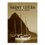 1, SAINT LUCIA POSTERS