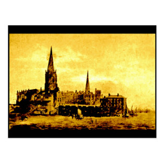 (1) Saint Nicholas Church, Liverpool, 1759 Postcard