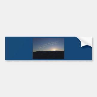1 Samuel 15:22 Sunset Bumper Sticker