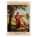1 Samuel  17  15 J.jpg Greeting Card