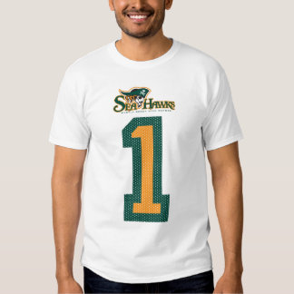 #1 Seahawk Jersey Tee Shirt