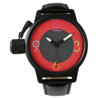 1 segundo más allá ahora es el futuro 40 reloj de mano