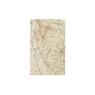 1 Sheffield sheet Pocket Moleskine Notebook Cover With Notebook