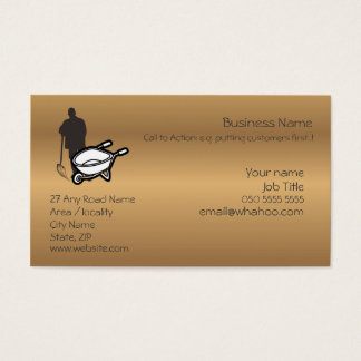 1 sided Generic Handyman Name Card