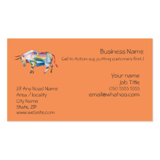1 sided Generic Name Card