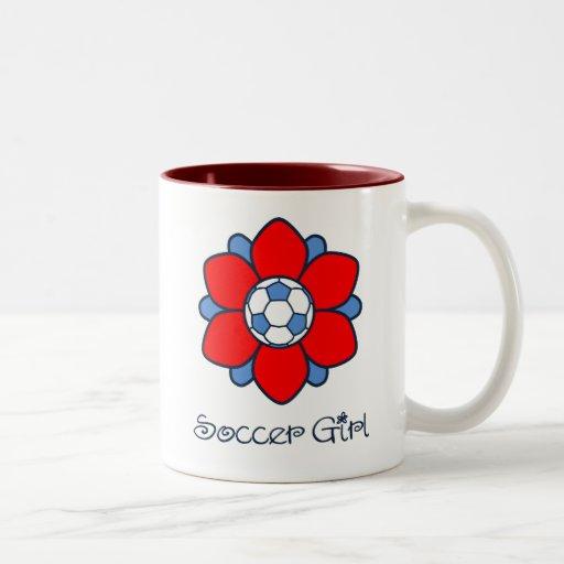 1 Soccer Girl Mugs