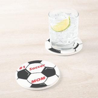 #1 Soccer Mom Drink Coaster