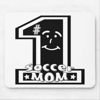 #1 Soccer Mom Mouse Pad