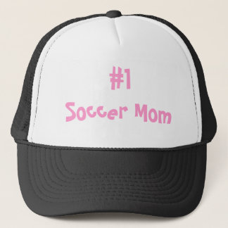#1 Soccer Mom Trucker Hat
