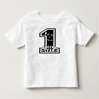 #1 Soccer Star Toddler T-shirt