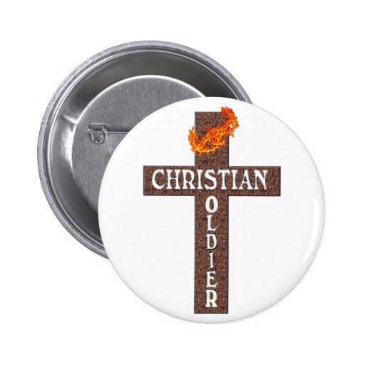 1 SOLDADO DEL CRISTIANO DEL 5:8 DE THESSALONIANS PIN