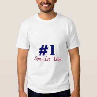 #1 Son-in-law T Shirt
