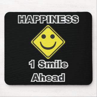 1 sonrisa a continuación tapetes de raton