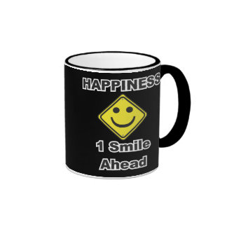 1 sonrisa a continuación tazas