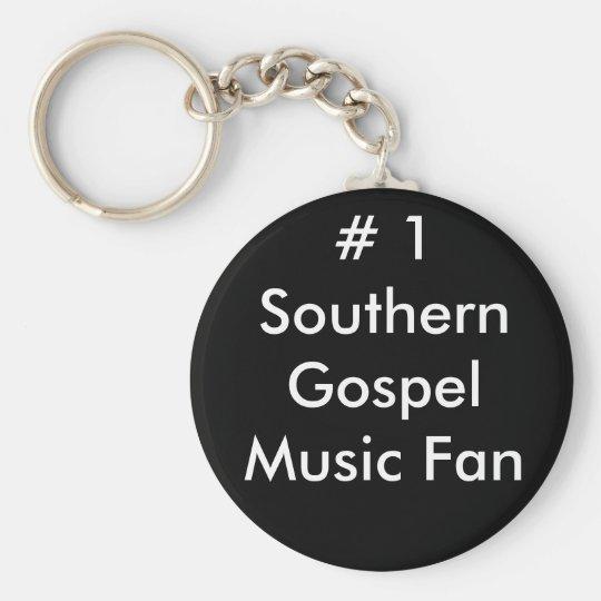 # 1 Southern Gospel Music Fan Keychain