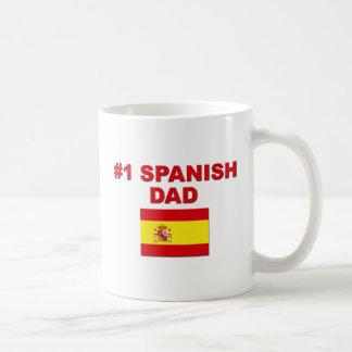#1 Spanish Dad Mugs