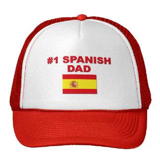 #1 Spanish Dad Trucker Hat