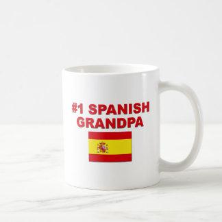 #1 Spanish Grandpa Mugs