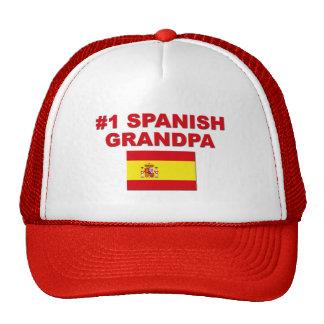 #1 Spanish Grandpa Trucker Hat