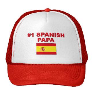 #1 Spanish Papa Trucker Hat