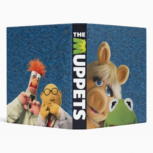 "1"" Srta. Piggy, Kermit, cubilete, y el Dr. Honeyde Carpeta 1"""