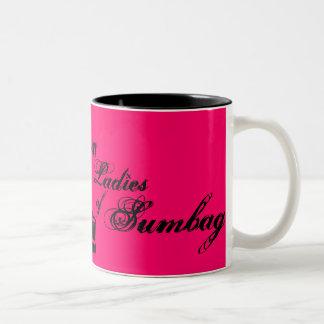 1, st, Ladies , of, Sumbag - Customized Two-Tone Coffee Mug