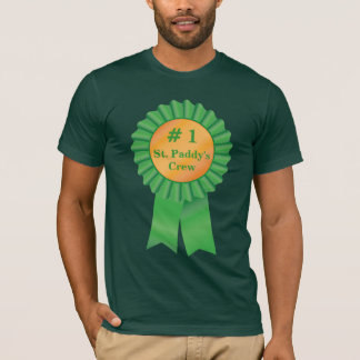 # 1 St. Paddy's Day Crew T-Shirt