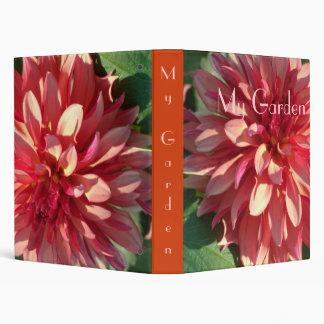 1 Starburst Pink Dahlia Binder
