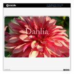 1 Starburst Pink Dahlia Skin For The MacBook
