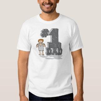 #1 Stone Age Dad T-Shirt