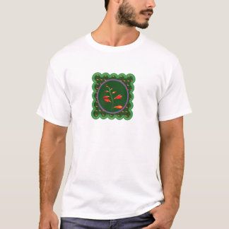 1 strand flower floral photo graphic on 100 gifts T-Shirt