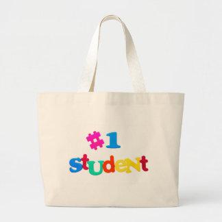 #1 Student Bookbag Canvas Bag