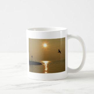 #1 Sunset Menemsha Martha's Vineyard Coffee Mugs