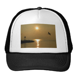 #1 Sunset Menemsha Martha's Vineyard Trucker Hat
