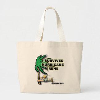 #1 Survived Hurricane Irene Jumbo Tote Bag