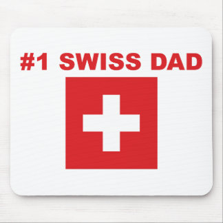 #1 Swiss Dad Mouse Pad