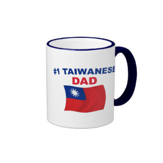 #1 Taiwanese Dad Ringer Coffee Mug