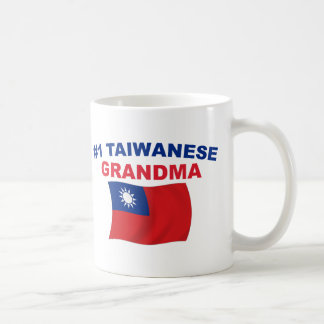 #1 Taiwanese Grandma Classic White Coffee Mug