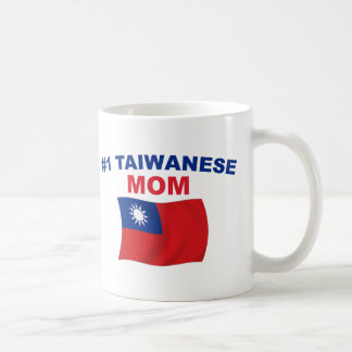 #1 Taiwanese Mom Classic White Coffee Mug