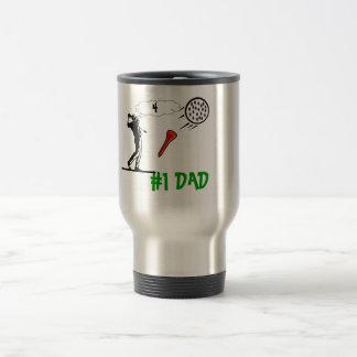 # 1 taza de café del golf del papá