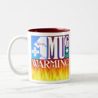 +1 taza de calentarse
