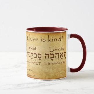 1 TAZA DEL HEBREO DEL 13:4 DE LOS CORINTHIANS