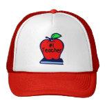 #1 Teacher (Apple/Books) Trucker Hat