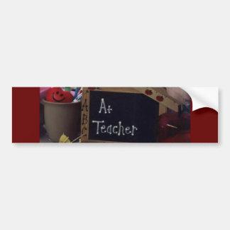 #1 Teacher Bumper Sticker