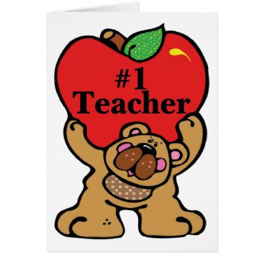 #1 Teacher Cards