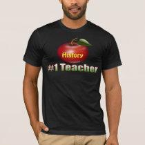 #1 Teacher Customizable T Shirt