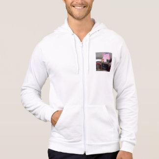 #1 Teacher Men's California Fleece Zip Hoodie